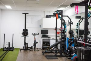 The Summit Fitness Studio Equipment